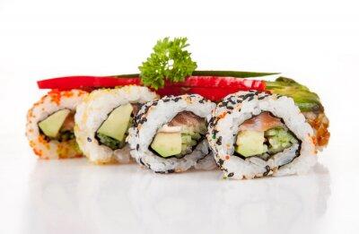 Obraz Pyszne sushi sztuk