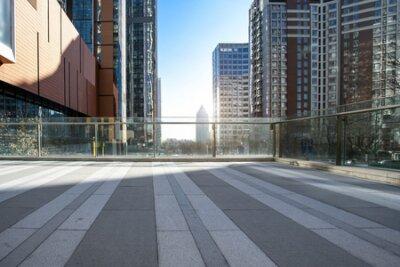 Obraz Qingdao modern city architecture landscape