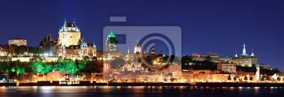 Obraz Quebec w nocy