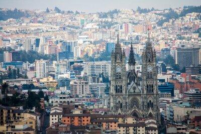 Obraz Quito Ekwador widok na miasto