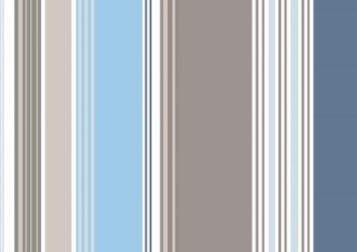 Obraz Rayures bayadères bleu gris Souris bleuet (CS5)