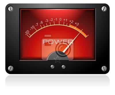 Obraz Red Analog Meter