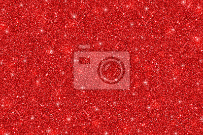 Obraz Red glittering holiday texture. Vector