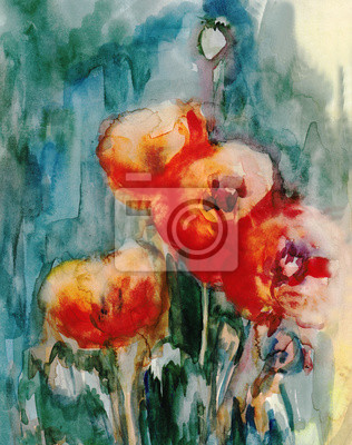Obraz Red poppies