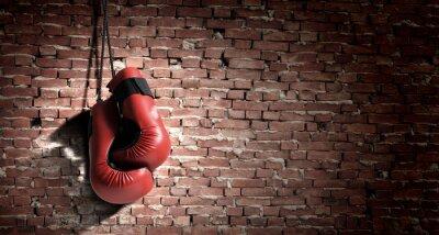 Obraz Rękawice bokserskie