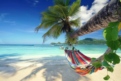 Obraz Relax na wakacje - wakacje na plaży