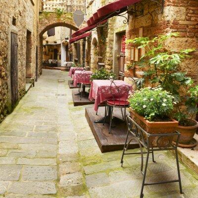 Obraz Restauracja w Toskanii