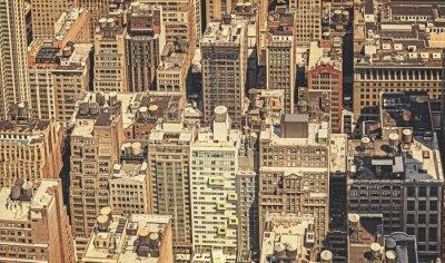 Obraz Retro filtrowany obraz Nowego Jorku.