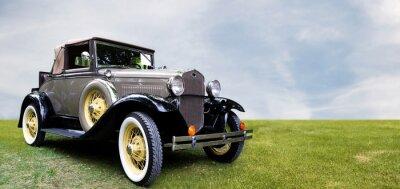 Obraz Retro samochód.