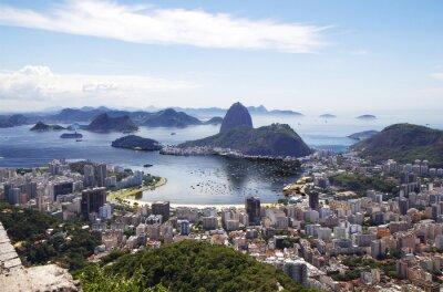 Obraz Rio de Janeiro. Ogólny widok na miasto.