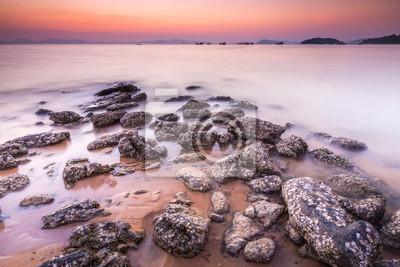 Rock na plaży