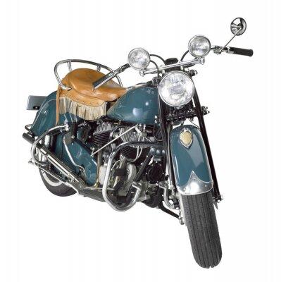 Obraz rocznik motocykla