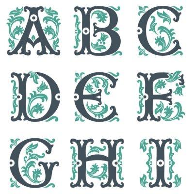 Obraz rocznika alfabetu. Część 1