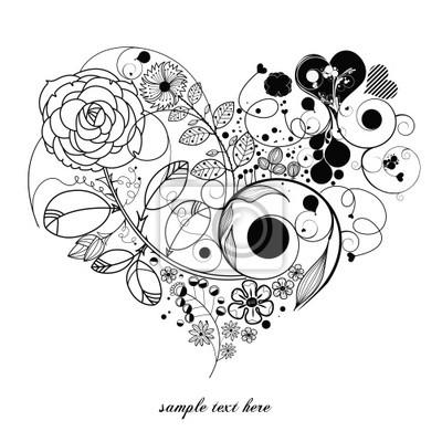 rocznika flower -love