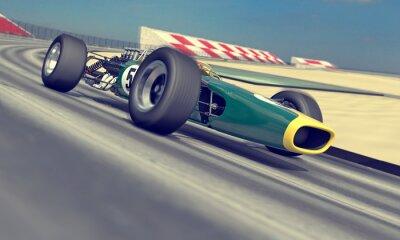 Obraz rocznika racer