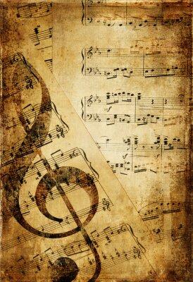 rocznika tło muzyczne