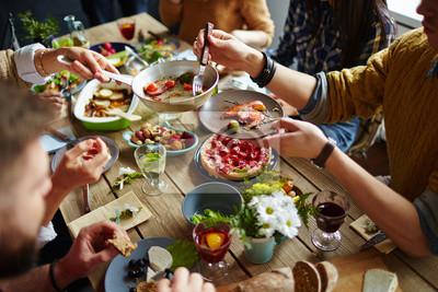 Obraz Rodzinny obiad