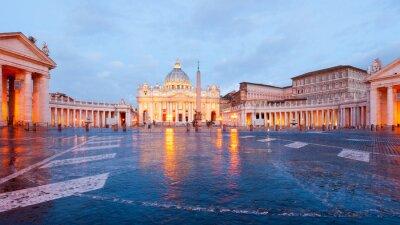 Obraz Roma Basilica di San Pietro in Vaticano