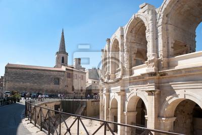 roman arena i chrześcijański kościół