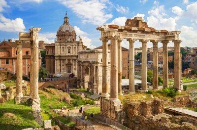 Obraz Roman Forum in Rome, Italy