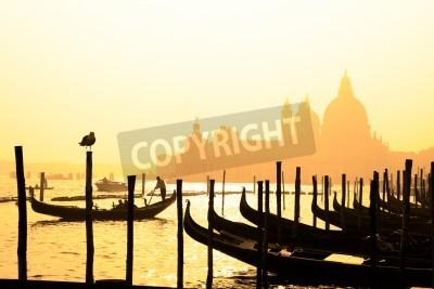 Obraz Romantyczne włoskie miasto Wenecji (Venezia)