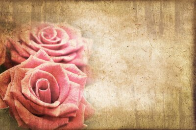 Obraz Roses rocznika
