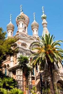 Rosyjski szczegółowo Kościół, Sanremo, Włochy