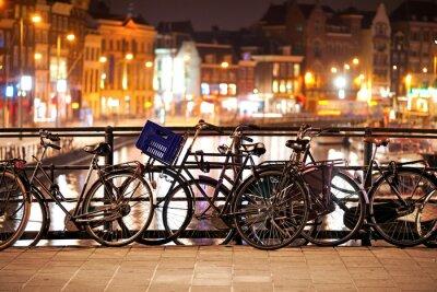 Obraz Rowery w Amsterdamie