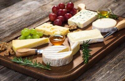 Obraz Różne rodzaje sera