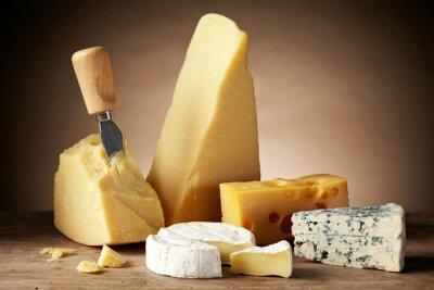 Obraz Różne typy sera