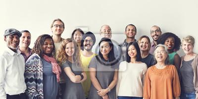 Obraz Różnorodność Ludzie Grupa Zrzeszeniowy Zrzeszeniowy pojęcie