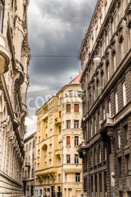 Obraz Różnorodność stylów pałaców w Budapeszcie: Roman, gotyckie, neogotyckim renesansu, neorenesansowym baroku, Neo-baroku, klasycyzmu, osmańskiej, neoklasycyzmu, romantyczne i secesyjnym Architektury