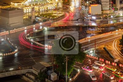 Ruch nocny / ruch nocny na dworcu kolejowym w Bangkoku (HUA LUMPONG).