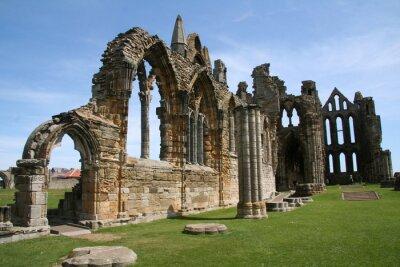 Obraz Ruiny kościoła w Europie