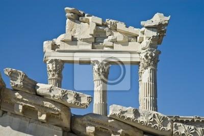 Ruiny Pergamo, południowo-zachodniej Turcji