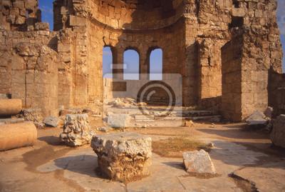 Obraz Ruiny starożytnego miasta