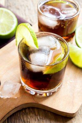 Obraz Rum i cola Cuba Libre napój