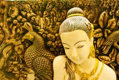 Obraz Rzeźba Thai