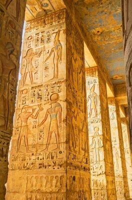 Obraz Rzeźbione kolumny