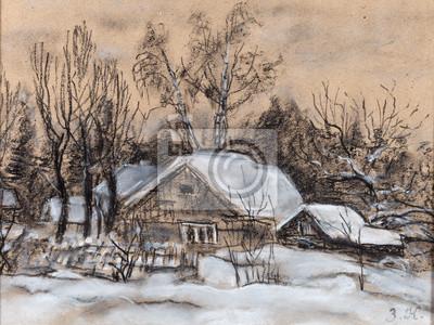Obraz Rzucony dom