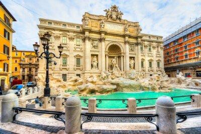 Obraz Rzym, Fontanna di Trevi. Włochy.