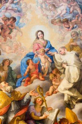 Obraz Rzym - Malowanie Mystic Weselu St Robert do Matki Bożej