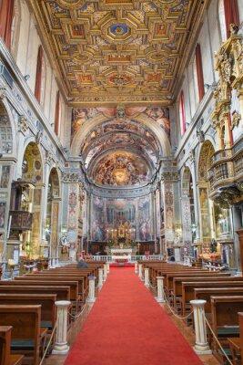 Obraz Rzym - Nawa kościoła Santo Spirito w Sassia.