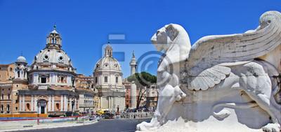 Rzym, widok z Piazza Venecia