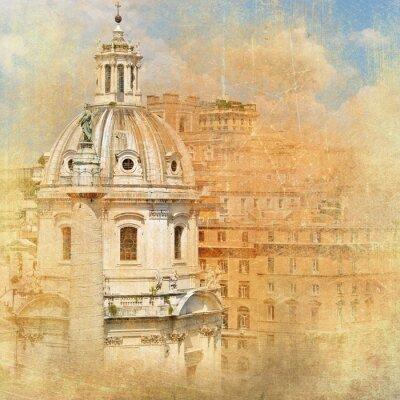 Obraz Rzymskie zabytki - seria archiwalne