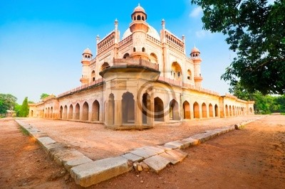 Obraz Safdarjung Grób w przebudowie. Indie, Delhi