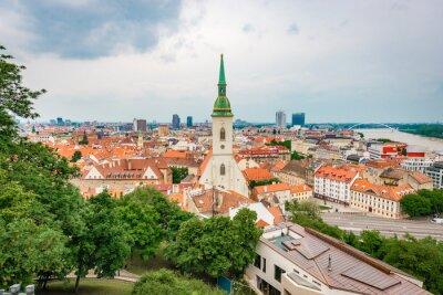 Saint Martin Cathedral in Bratislava, Slovakia.
