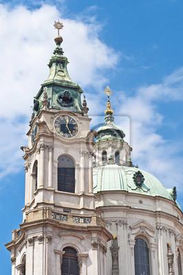 Saint Nicholas kościół w Pradze