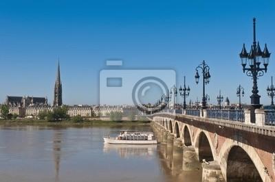 Saint Pierre mostu w Bordeaux, Francja