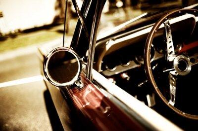 Obraz Samochód retro fragment